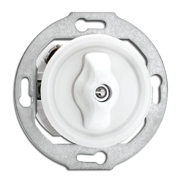 Stikalo rotacijsko menjalno Porcelan