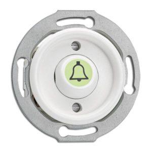 Tipka osvetljena* zvonec Duroplast