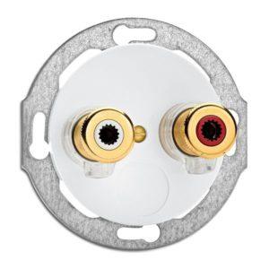 Vtičnica za zvočnik WBT nextgen™  Porcelan