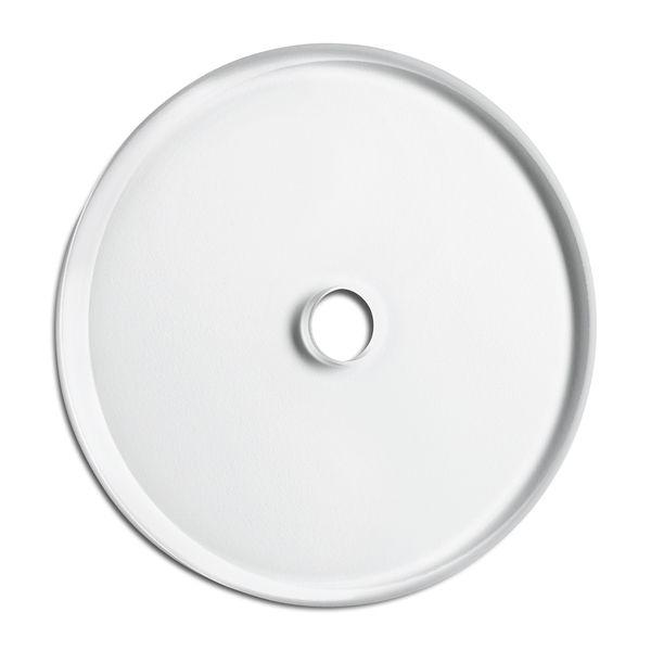 Okvir enojni stekleni primeren za rotacijsko stikalo
